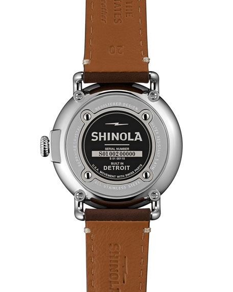 Shinola Men's 41mm Runwell Watch