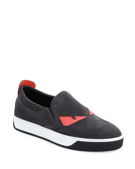 Men's Monster Slip-On Sneakers