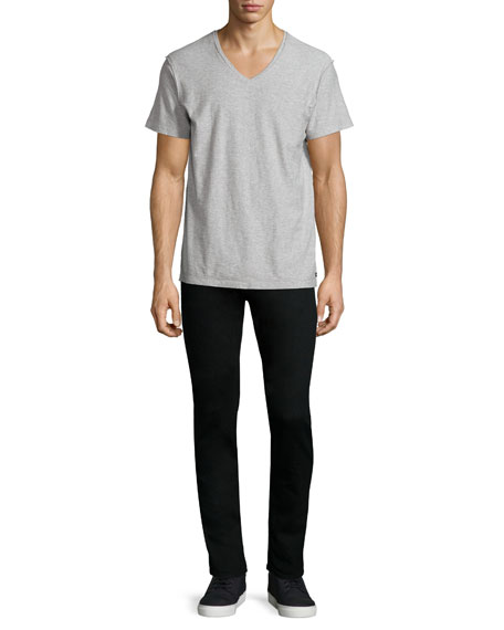 Standard Issue Fit 1 Slim-Skinny Jeans, Black