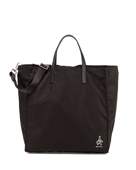 Discount Pay With Paypal Prada waterproof logo tote Clearance With Credit Card High Quality Sale Online pM0ju