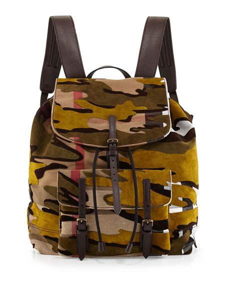 Burberry Camo Backpack