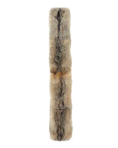 Loro Piana Baby Cashmere & Fox Fur Scarf,