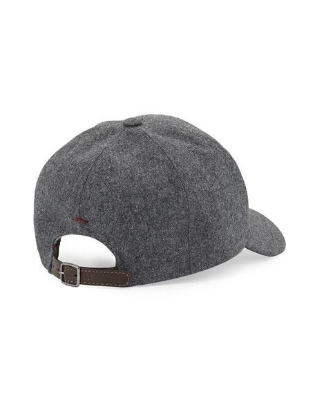 2a038a21dfe99 Brunello Cucinelli Wool Baseball Cap