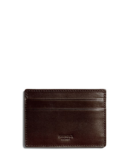 Men's Six-Pocket Leather Card Case