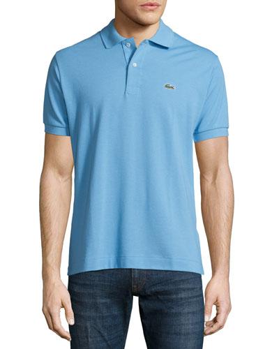 Classic Pique Polo Shirt, Delta Blue