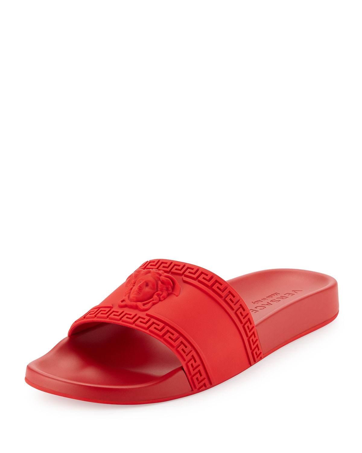 de3bebad4e4a Versace Men s Medusa-Head Slide Sandals