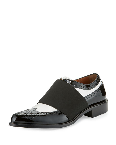 Givenchy Show Richelieu Icon Oxford, Black/White