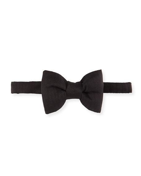 Solid Silk Bow Tie