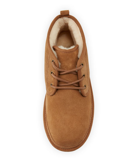 Neumel Suede Desert Boot, Chestnut