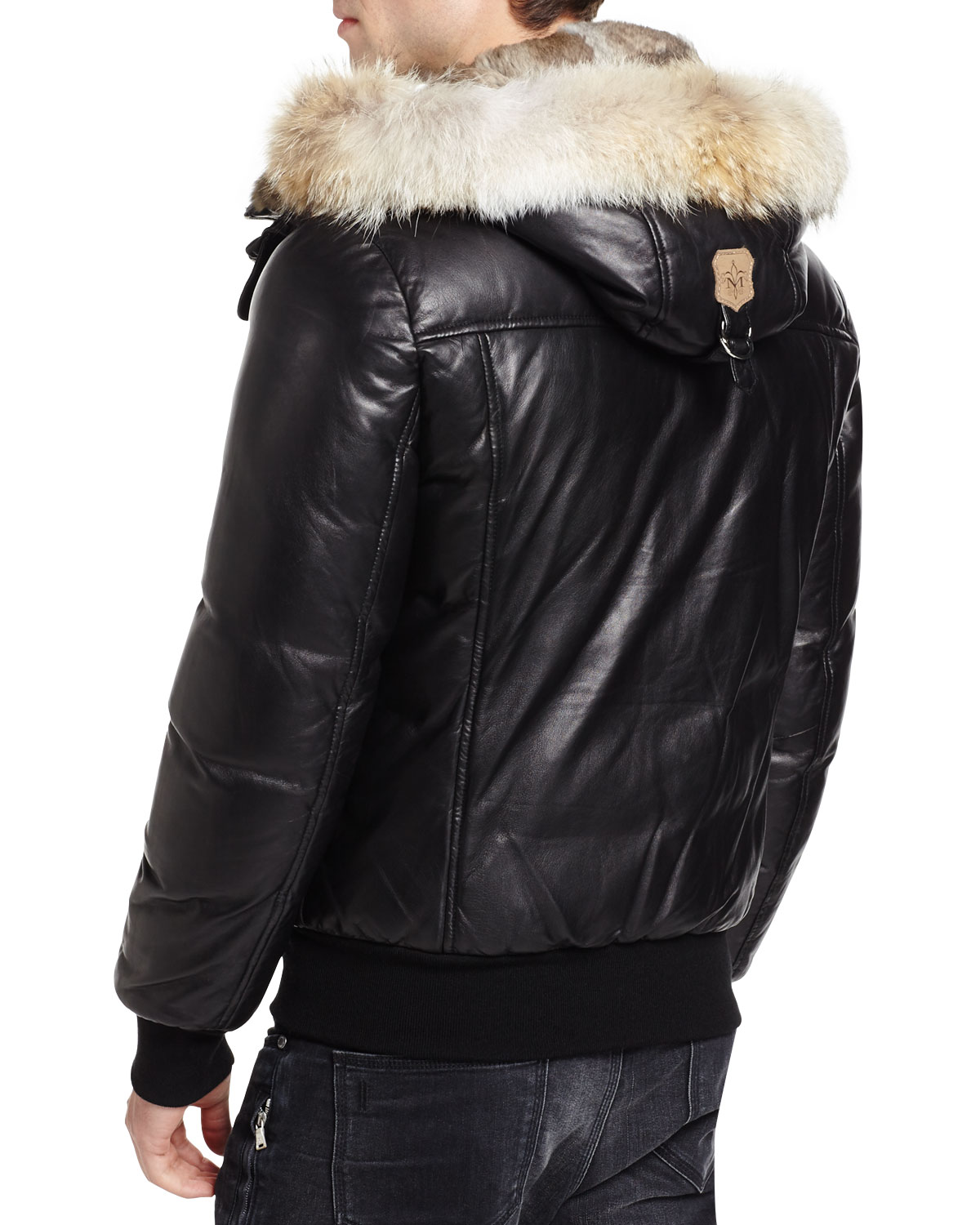 d8b15acd4 good mackage leather winter jacket for sale 92da9 dbbc3