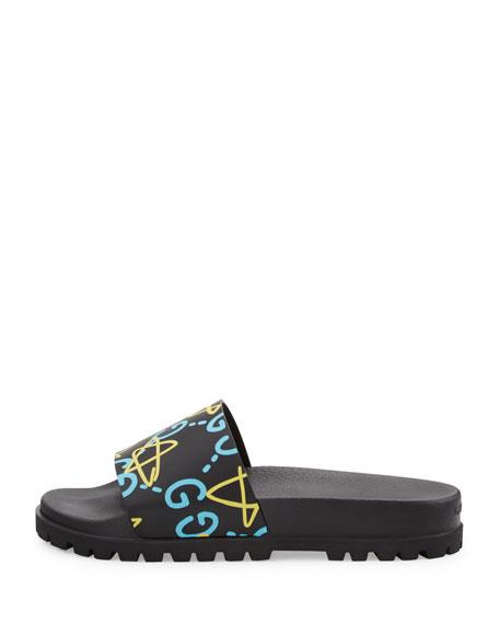 Pursuit GucciGhost Leather Sandal