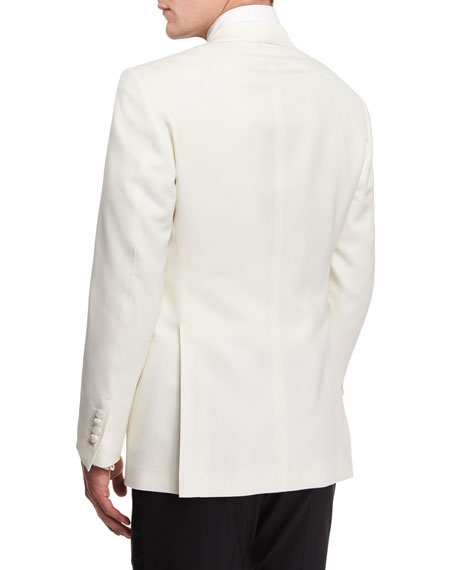 Windsor Base Dinner Jacket, White
