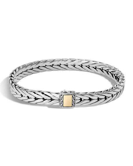 John Hardy Men's Classic Chain Small Rectangle Bracelet