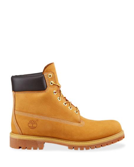 "6"" Premium Waterproof Hiking Boots, Tan"