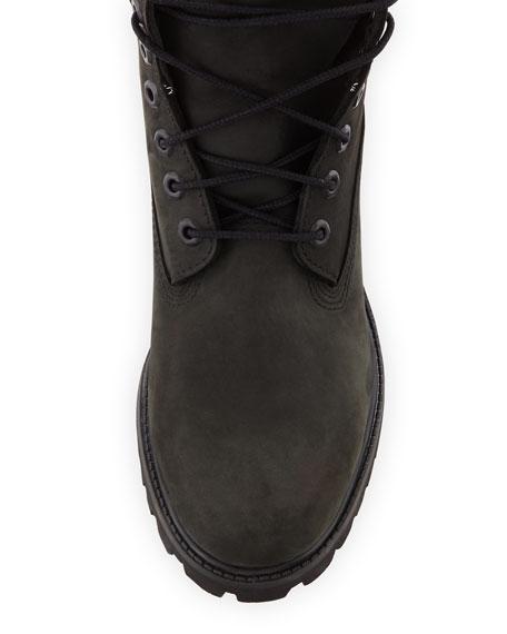 "6"" Premium Waterproof Hiking Boots, Black"