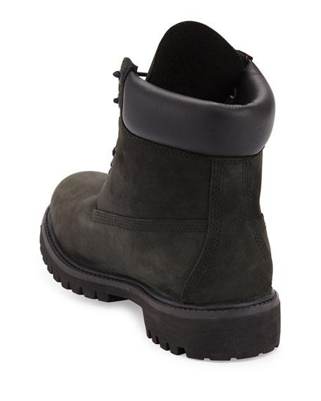 "6"" Premium Waterproof Hiking Boot, Black"