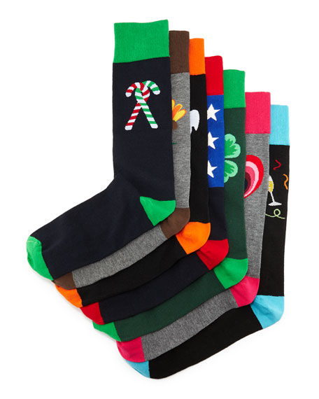 Neiman Marcus Season of Socks Holiday Gift Set