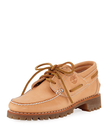 Timberland Limited Edition Bare Naked Lugged Boat Shoe,