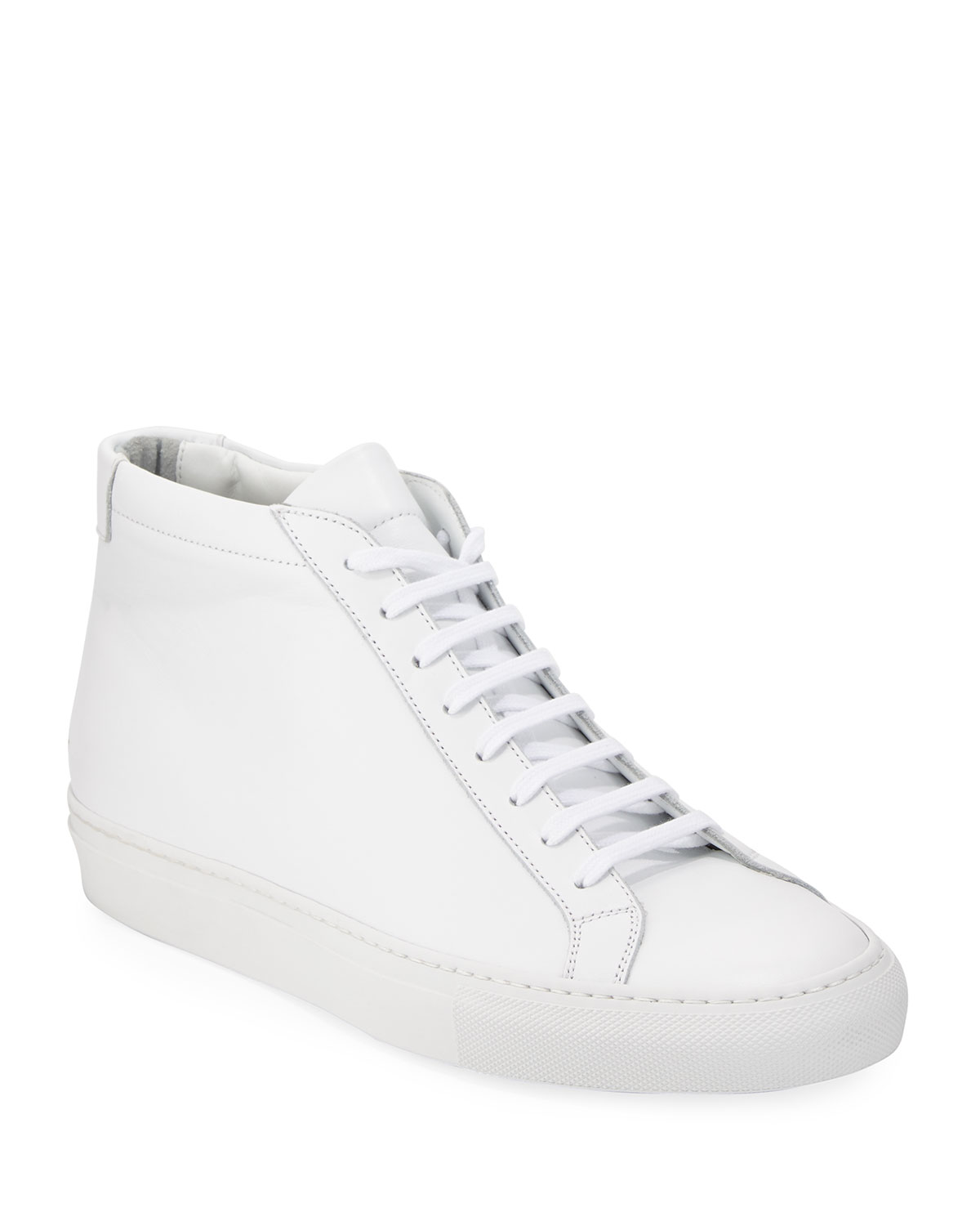 b088c42dc Common Projects Men's Original Achilles Men's Leather Mid-Top Sneakers, ...
