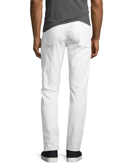 Tyler Taper Jeans with Released Hem, Alkaline