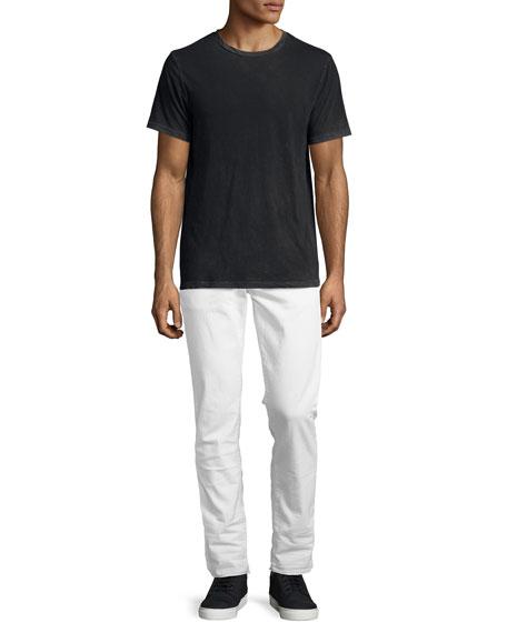 Tyler Taper Jeans with Released Hem, Alkaline
