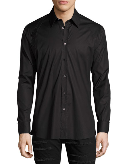 Harness Stretch Cotton Shirt