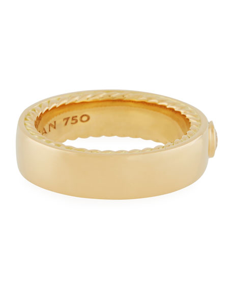 Streamline 18k Narrow Band Ring