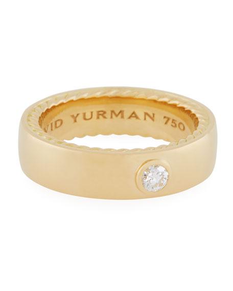 David Yurman Streamline 18k Narrow Band Ring