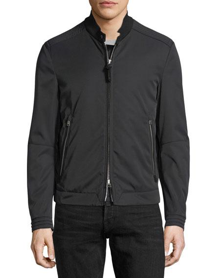Nylon-Cotton Blouson Jacket