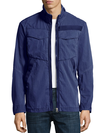 G-Star Deline Twill Military Overshirt, Blue