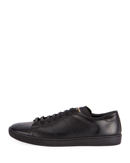 SL/01 Men's Leather Low-Top Sneakers