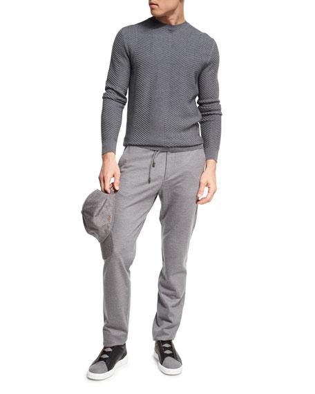 Drawstring Jogger Pants, Dark Gray