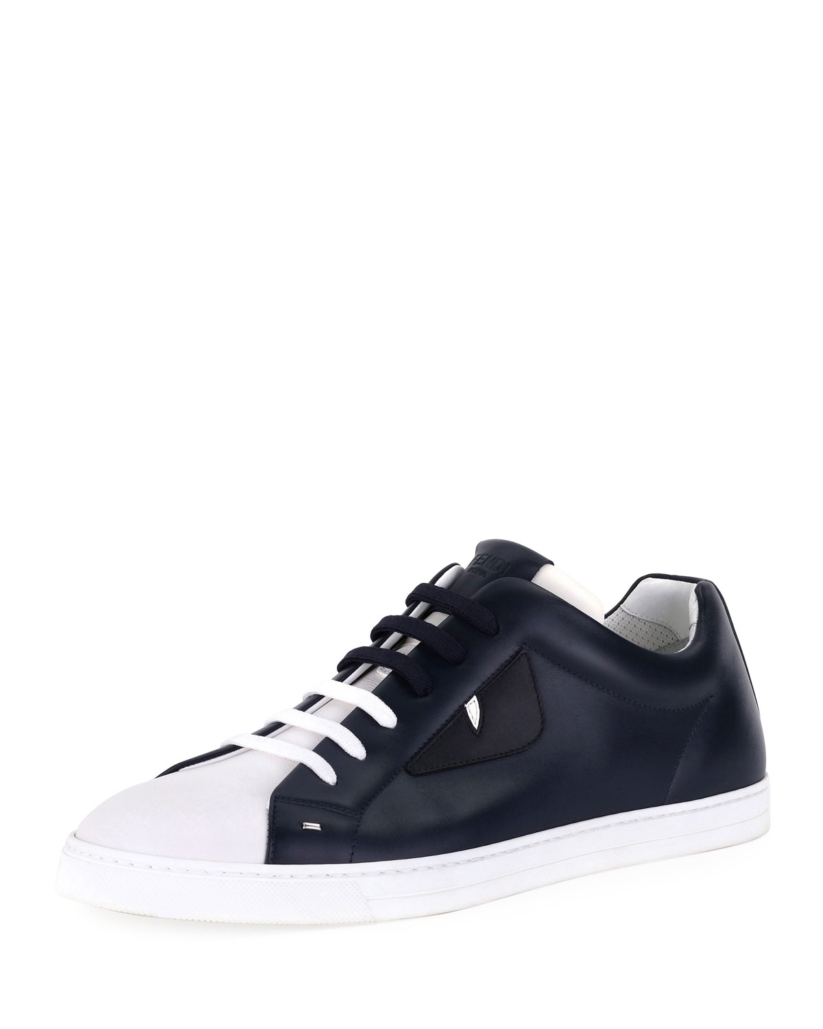 20ad933d49 Men's Monster Leather Low-Top Sneakers