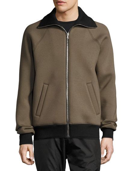 Clifton Neoprene Zip-Front Jacket