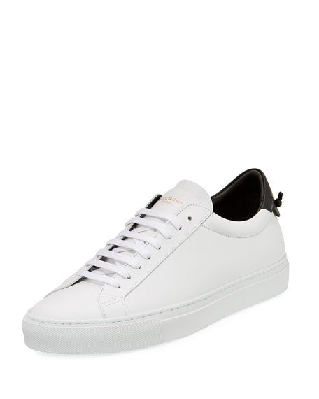 Givenchy Men's Urban Knot Colorblock Leather Low-Top Sneaker,