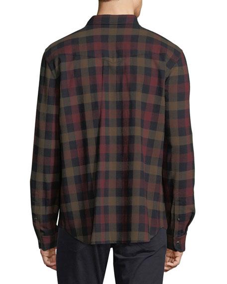 Check Wool Western Shirt