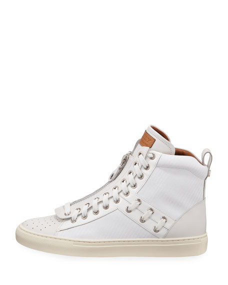 Men's Hekem Patchwork High-Top Sneakers