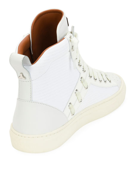 Hekem Patchwork High-Top Sneaker