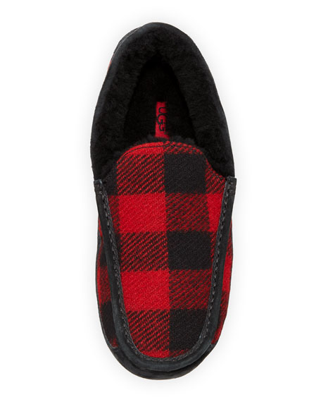 Ascot Buffalo Plaid Slipper