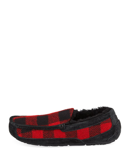 Men's Ascot Buffalo Plaid Slipper