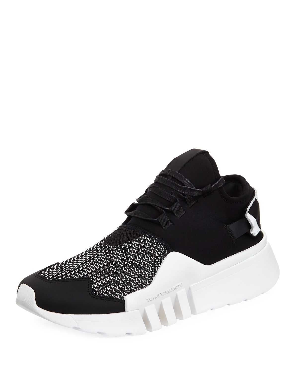 385634ac4 Y-3 Men s Ayero Leather   Mesh Sneaker