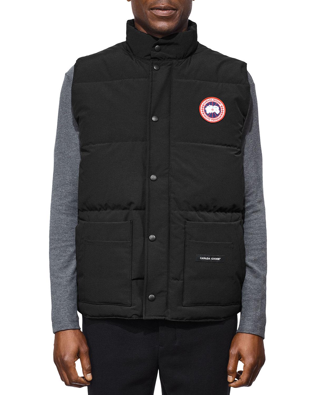 canada goose garson vest vs freestyle vest
