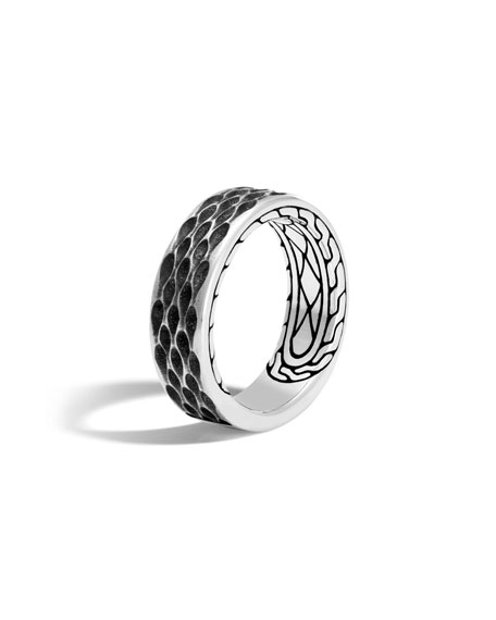 John Hardy Men's Legends Naga Dragon Sterling Silver Band Ring