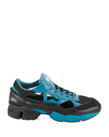 Men's Replicant Ozweego Trainer Sneakers, Black