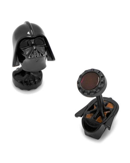 Cufflinks Inc. 3D Star Wars Darth Vader Cuff Links