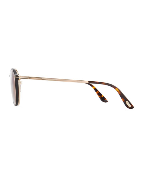 Round Optical Glasses w/ Magnetic Clip on
