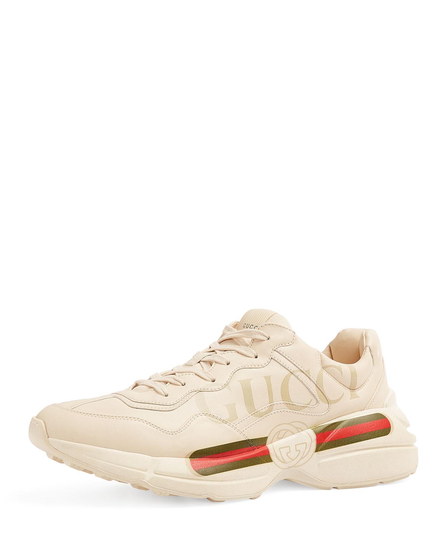 c0339943da1e4 Gucci Gucci Logo Leather Sneaker
