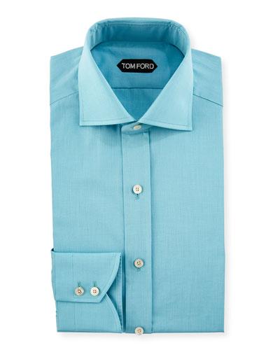 End-on-End Cotton Dress Shirt