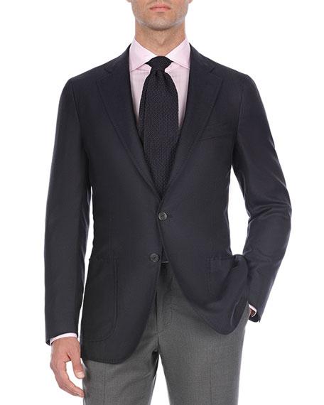 Isaia Solid Cashmere-Blend Sport Coat