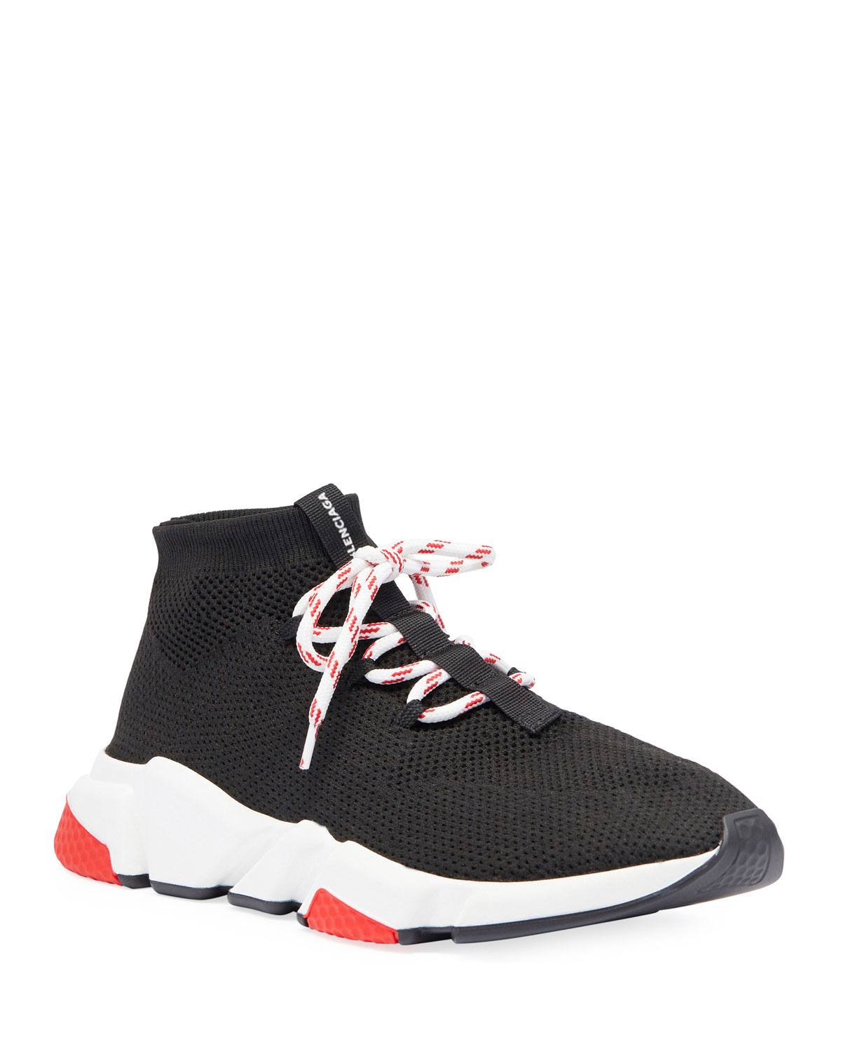 9a1f72895538 Balenciaga Men s Speed Lace-Up Mesh Sneakers